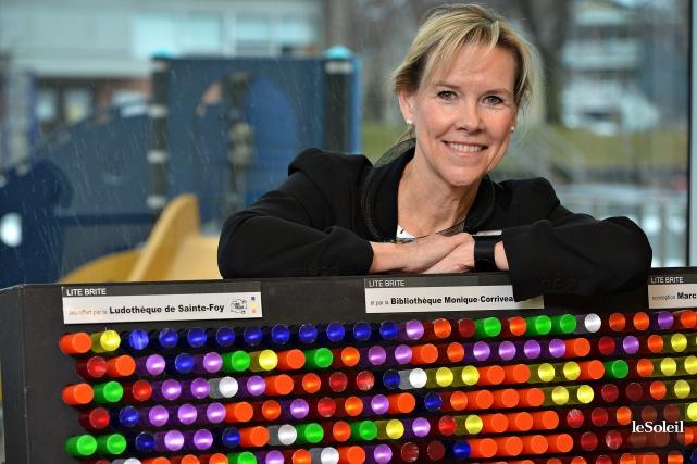 Rolande Filion est psychopédagogue, elle consacre sa vie... (Photo Le Soleil)