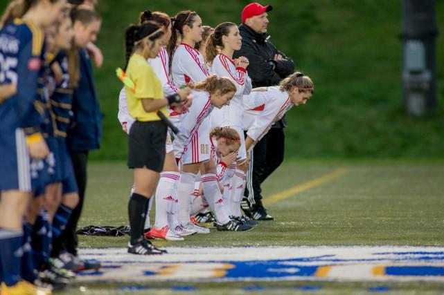 Invaincues en 41 matchs jusqu'ici, les filles du... (Photo Bob Frid, UBC Athletics)