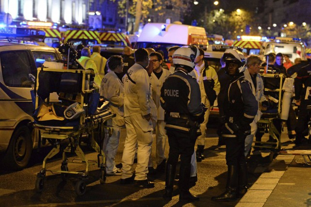 Deux Français ayant résidé à Bruxellesfigurent parmi les... (AFP, Miguel Medina)