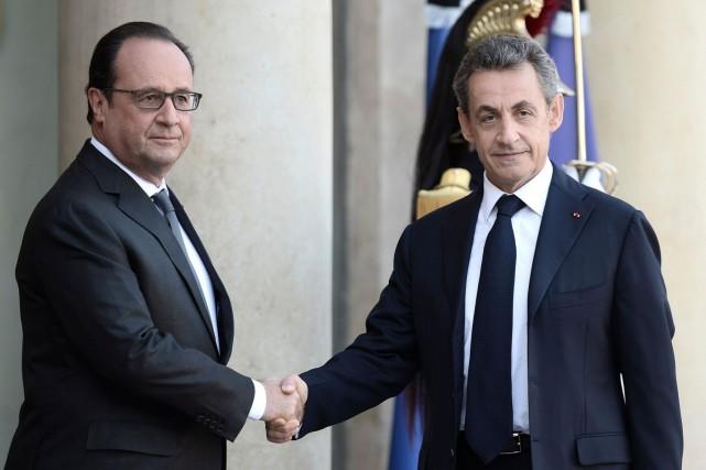 Selon l'entourage du parti de Nicolas Sarkozy, François... (AFP, Stephane de Sakutin)