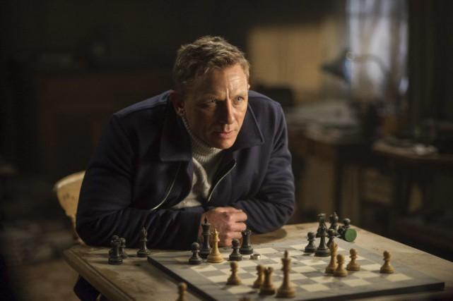 Daniel Craig dans une scène de Spectre.... (PHOTO FOURNIE PAR MGM PICTURES)