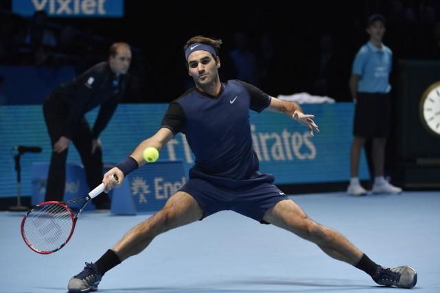 Roger Federer... (Photo Toby Melville, Reuters)