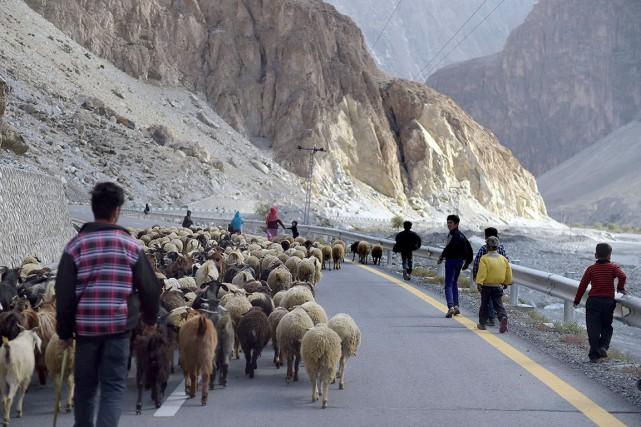 La nouvelle route de la soie dessinée par... (AFP, Aamir Qureshi)