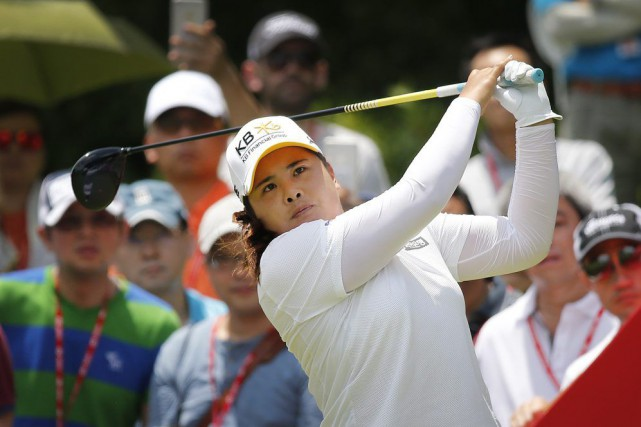 Inbee Park... (Photo Wong Maye-E, archives AP)
