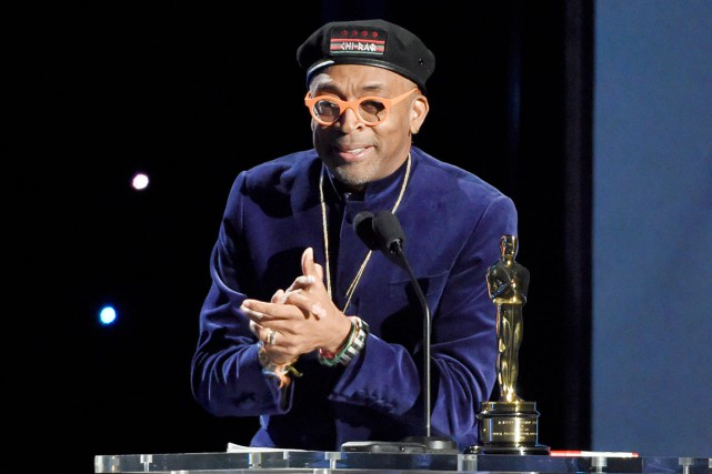 Spike Lee a reçu, samedi, un Oscar honorifique... (AP, Chris Pizzello)