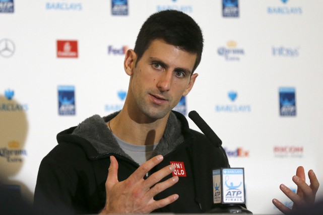 Novak Djokovic a porté à 15 sa série... (Frank Augstein, Associated Press)