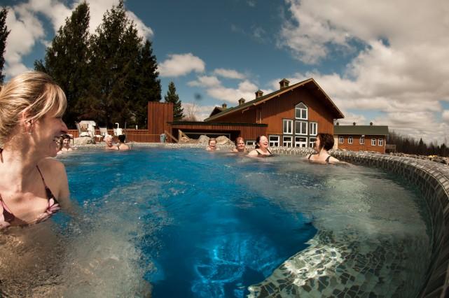 Le Spa Eastman est élu «Le meilleur spa au Canada» selon SpaFinder2015... (Fournie par Spa Eastman)