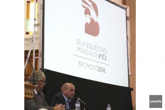Le président du conseil d'administration du COJEM, François... (Julie Catudal, La Voix de l'Est)