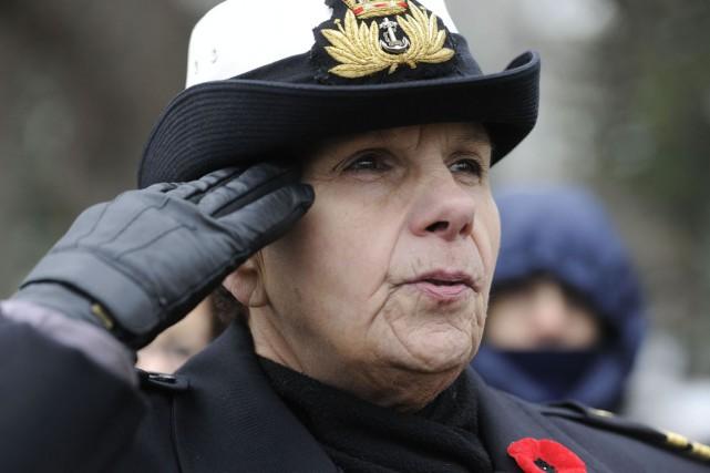 On ne s'engage pas dans les Forces armées canadiennes pendant plus de douze ans... (Andréanne Lemire)