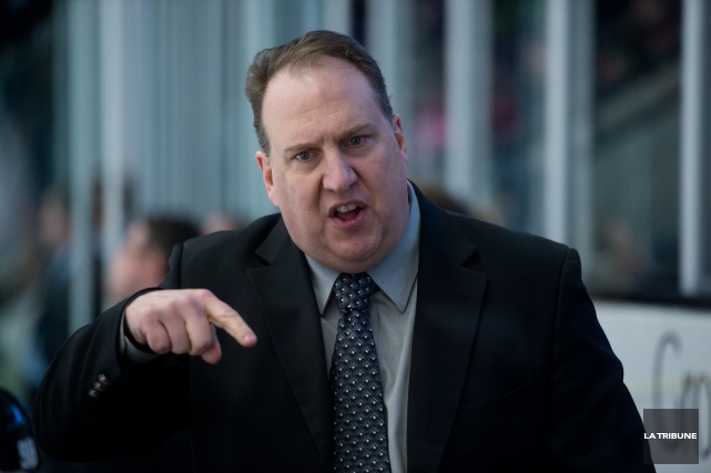 Les Voltigeurs de Drummondville ont congédié leur entraîneur-chef... (Archives La Tribune, René Marquis)