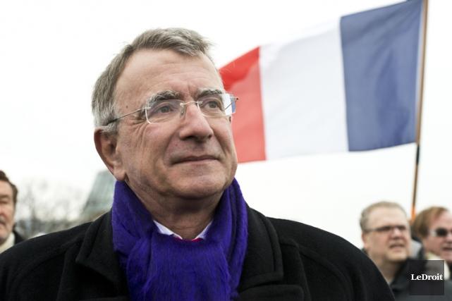 L'ambassadeurNicolas Chapuis a participé dimanche à une marche... (Archives, LeDroit)
