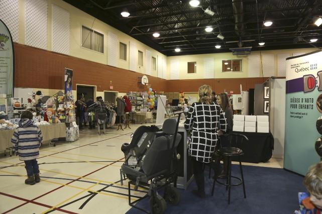 Le deuxième Salon de la famille de Granby... (photo Julie Catudal)