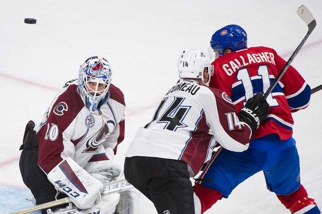 Brendan Gallagher a marqué le seul but du Tricolore,... (La Presse Canadienne, Graham Hughes)