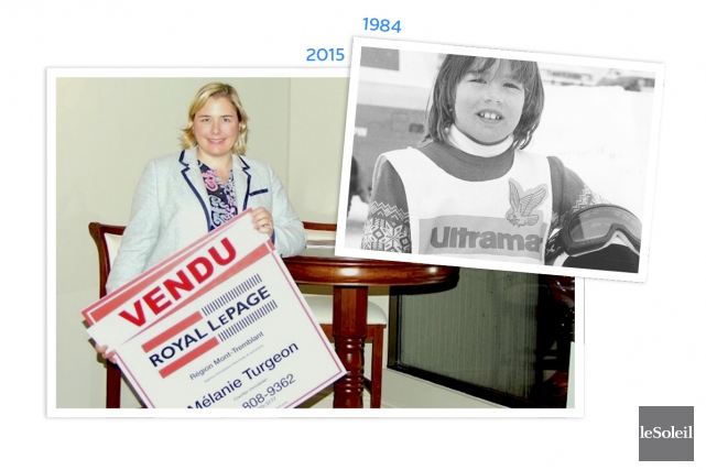 L'ancienne championne de ski alpin Mélanie Turgeon est... (Photo fournie par Mélanie Turgeon et Photothèque Le Soleil)