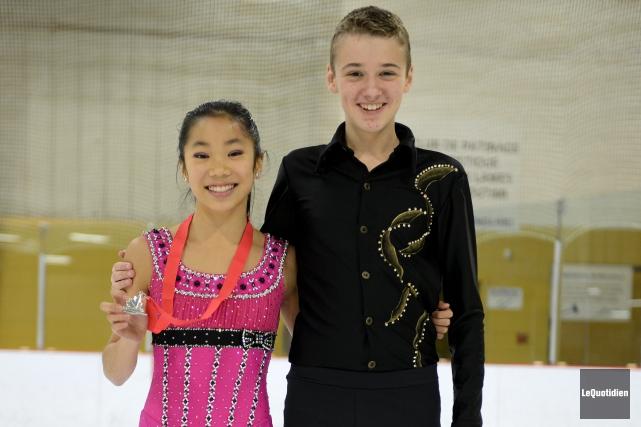 Les patineurs du programme sport-études en patinage artistique... (Photo Le Quotidien, Jeannot Lévesque)