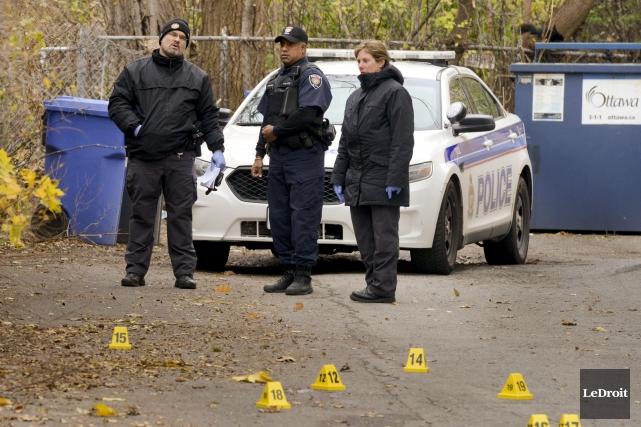 L'enquête sur le meurtre survenu samedi soir dans... (Martin Roy, LeDroit)
