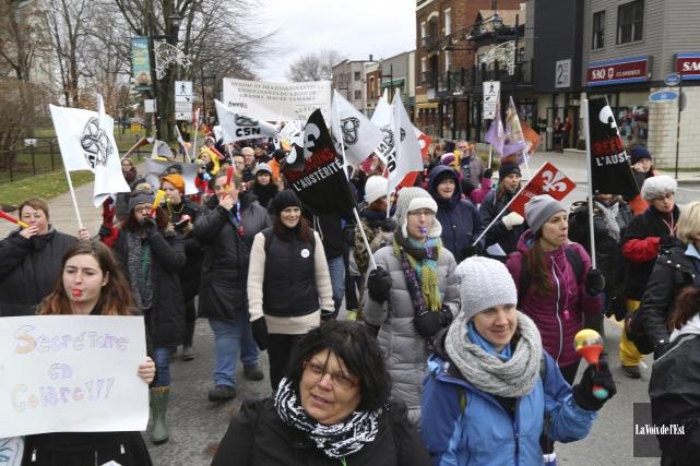 Il y aura deux nouvelles journées de grève... (Janick Marois, archives La Voix de l'Est)