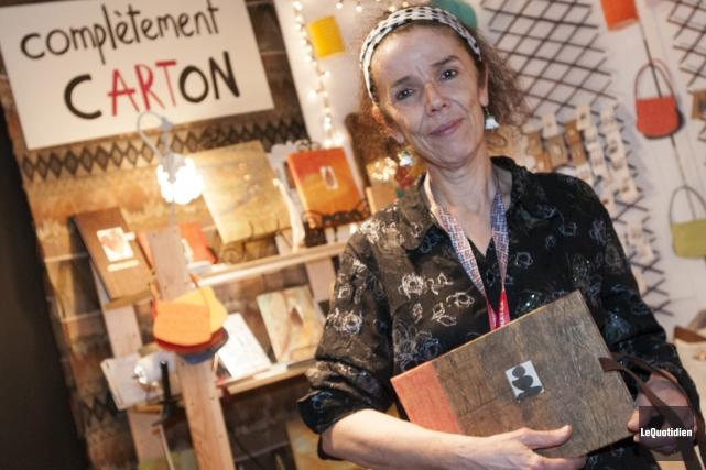 Nicole Wisniewski a remporté la bourse Rayonnement de... (Photo Le Quotidien, Michel Tremblay)