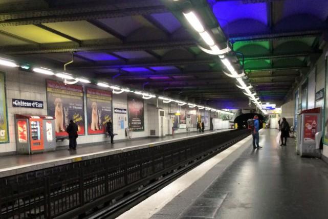 «J'ai utilisé le métro en soirée samedi et... (Courtoisie Sabrina Myre)