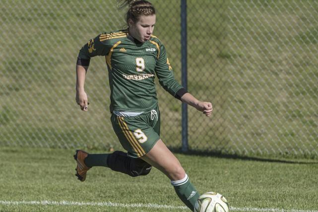 La Granbyenne Christina Arès St-Onge.... (Université de Sherbrooke)