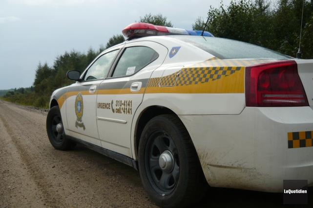 Une collision frontale survenue à Lamarche, tard samedi soir, a coûté la vie à... (Archives Le Quotidien)
