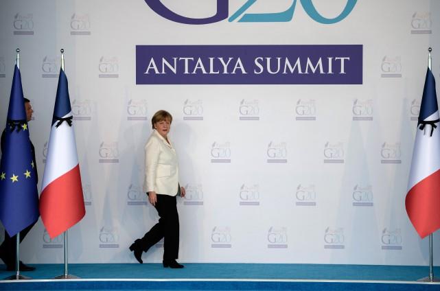 L'Allemagne accueillera en 2017 les réunions du G20,... (Photo AFP)