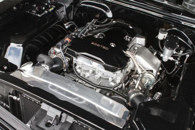 GM a transplanté dans une Nova SS 1967... (Photo fournie par Chevrolet Performance)