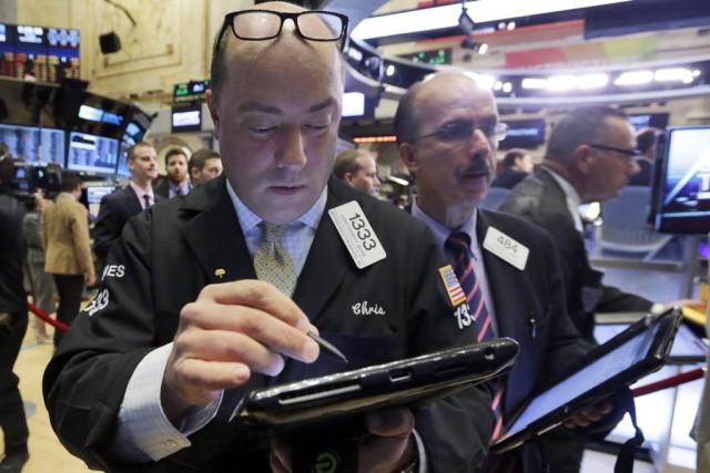 Wall Street a nettement monté lundi à l'issue d'une séance pendant laquelle... (PHOTO RICHARD DREW, ARCHIVES AP)
