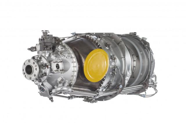 Le moteur PT6A-140A aura de 15 à 20%... (Photo fournie par Pratt & Whitney Canada)