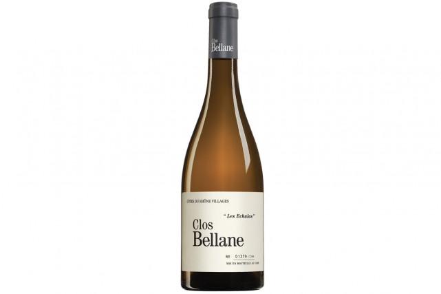Clos Bellane Côtes-du-Rhône Villages Valréas «Les Échalas» 2012... (PHOTO FOURNIE PAR LA SAQ)