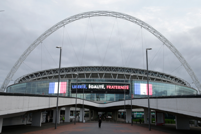 Le stade Wembley de Londres, où aura lieu... (Photo Henry Browne, Reuters)