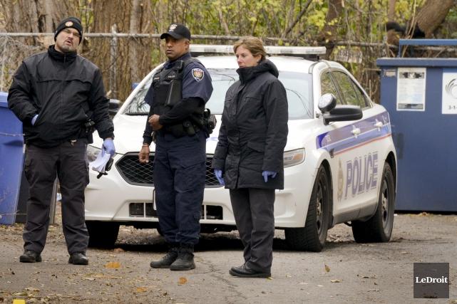 La victime a été atteinte de deux balles... (Martin Roy, LeDroit)