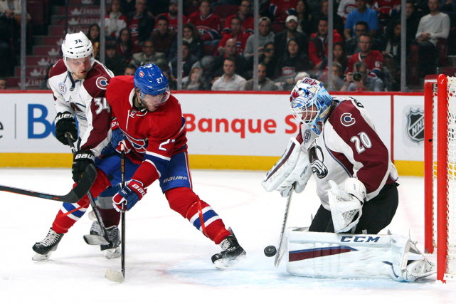Dans le match contre l'Avalanche du Colorado samedi,... (Photo Jean-Yves Ahern, USA Today)