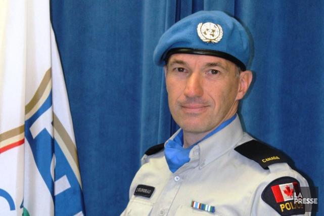 Le policier Daniel Bourgeau, du SPVG.... (Courtoisie SPVG)