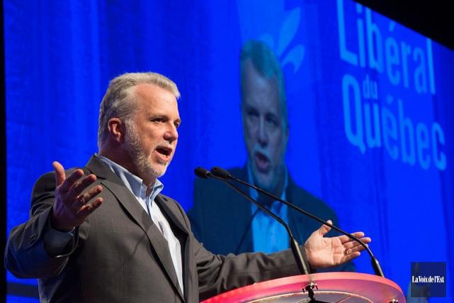 Philippe Couillard, le premier ministre du Québec.... (PHOTO ARCHIVES LA VOIX DE L'EST)