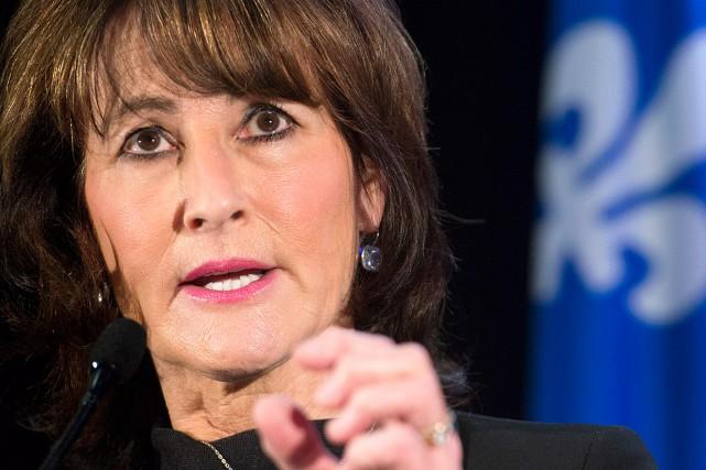 La ministre de l'Immigration, Kathleen Weil, lors de... (Photo Graham Hughes, PC)