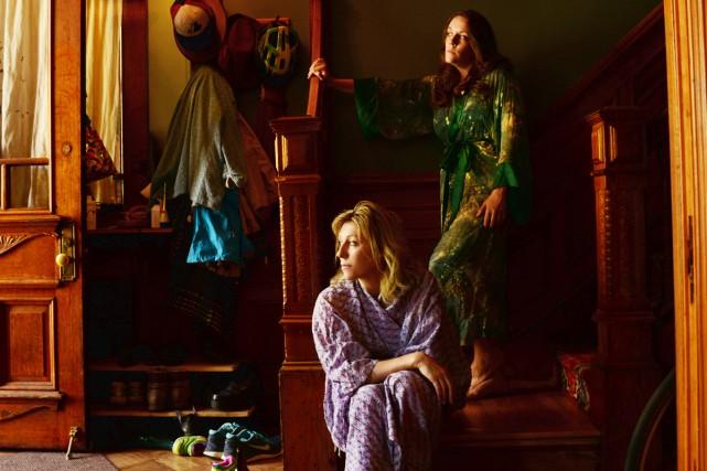 Martha Wainwright et sa soeur Lucy Wainwright Roche... (PHOTO FOURNIE PAR MAPLE MUSIC RECORDINGS)