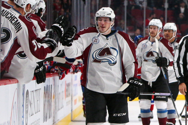 Matt Duchene a récolté trois points dans la... (Photo Jean-Yves Ahern, USA Today)