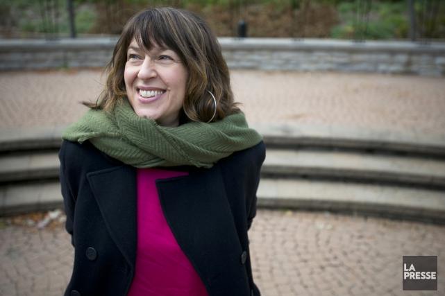 Marie-Louise Arsenault est l'animatrice de l'émission littéraire Plus on est de... (PHOTO FRANÇOIS ROY, LA PRESSE)