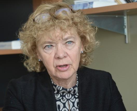 Hélène Cajolet-Laganière, coauteure du dictionnaire Usito.... (ARCHIVES LA NOUVELLE)