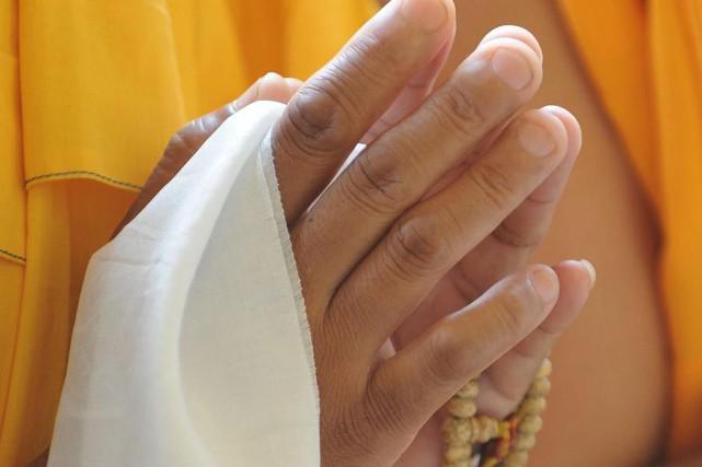Je pratique le bouddhisme depuis quelques années. Je ne le crie pas sur tous... (Photo: Archives AFP)