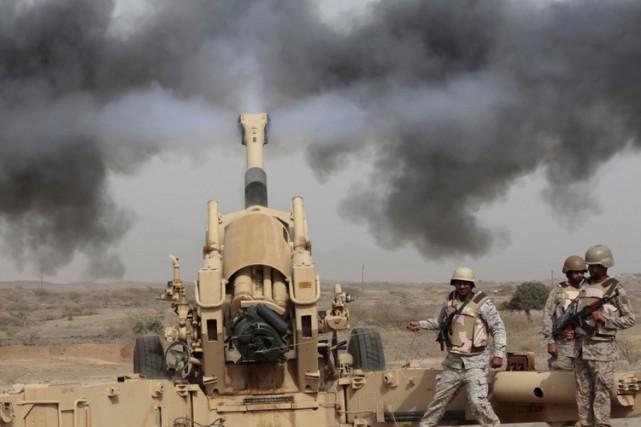 L'Arabie saoudite est actuellement à la tête d'une... (PHOTO AP)