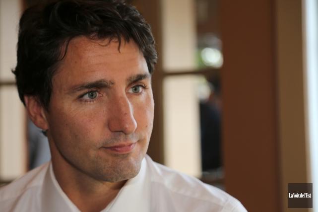 Le premier ministre du Canada, Justin Trudeau.... (archives La Voix de l'Est)