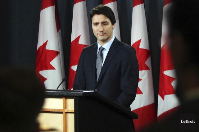 Justin Trudeau... (Le Droit)