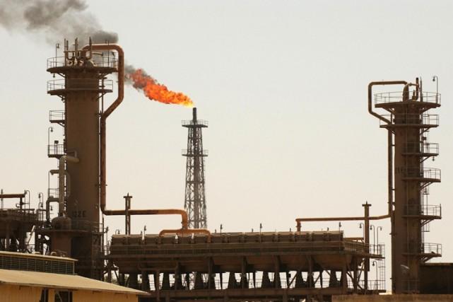 La raffinerie de Baïji fournit du pétrole à... (Agence France-Presse)