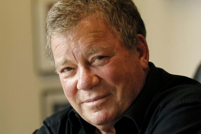 William Shatner est né à Montréal en 1931.... (Archives, Associated Press)
