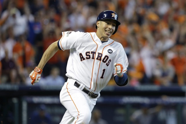 Carlos Correa... (Photo Pat Sullivan, archives AP)