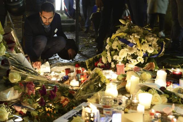 À la Place de la République au coeur... (AFP, Bertrand Guay)