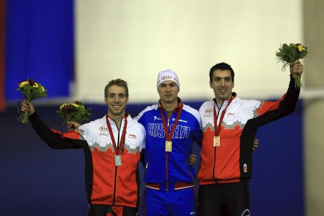 Alex Boisvert-Lacroix (à droite) a remporté une première... (Collaboration spéciale)