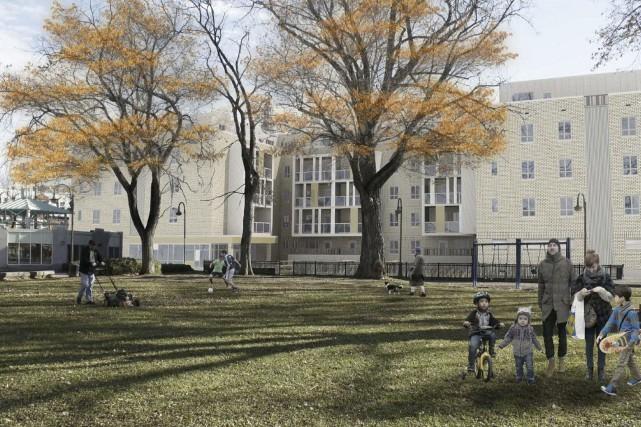 Un bâtiment neuf d'appartements poussera sur les ruines... (Fournie par Action-Habitation)